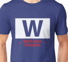 Chicago Cubs Majestic W Flag (World Series Edition) Unisex T-Shirt