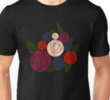 Minimal roses Unisex T-Shirt