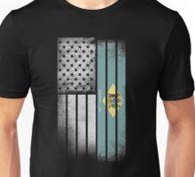 USA Vintage Delaware State Flag Unisex T-Shirt