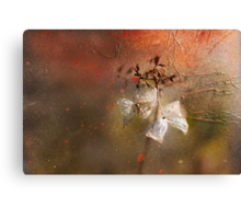 The Abstract World of Flowers Canvas Print