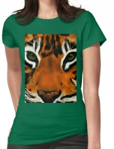 Tiger Eyes Womens Fitted T-Shirt