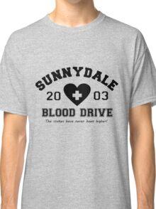 Sunnydale 2003 Blood Drive - Black Classic T-Shirt