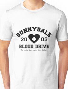 Sunnydale 2003 Blood Drive - Black Unisex T-Shirt