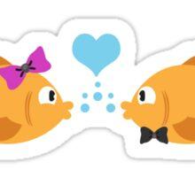 Fish Love Sticker