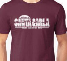 Santa Carla (White Print) Unisex T-Shirt