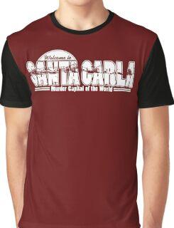 Santa Carla (White Print) Graphic T-Shirt