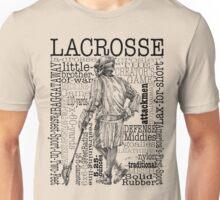Word Montage-LACROSSE (Male) Unisex T-Shirt