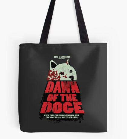 Dawn of the Doge Tote Bag