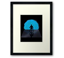 Staring Into the Illusive Sun (Renegade) Framed Print