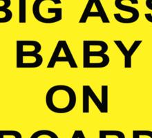 Tosh.0 - Big Ass Baby On Board Sticker Sticker