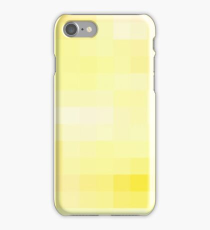 Re-Created Colored Squares No. 2 by Robert S. Lee iPhone Case/Skin