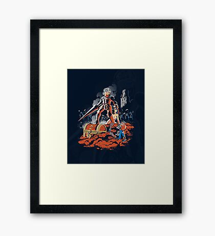 ARMY OF GHOULS Framed Print