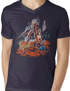ARMY OF GHOULS Mens V-Neck T-Shirt