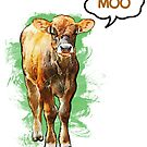 Moo Cow by evisionarts