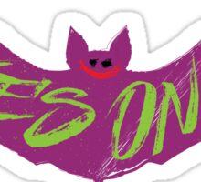 The Joking Bat Sticker