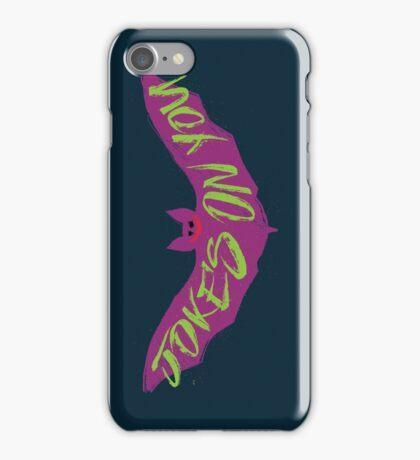 The Joking Bat iPhone Case/Skin