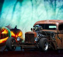 Rat Rod 'Spooky Hollow' Pickup by DaveKoontz