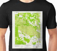 USGS TOPO Map California CA Aetna Springs 287820 1958 24000 geo Unisex T-Shirt