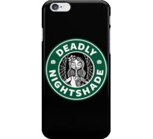 Deadly Nightshade iPhone Case/Skin