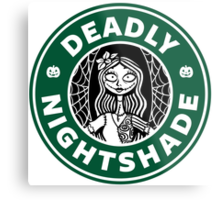 Deadly Nightshade Metal Print