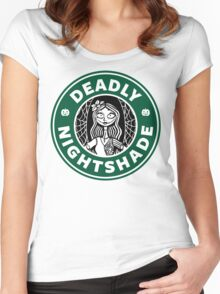 Deadly Nightshade Women's Fitted Scoop T-Shirt
