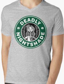 Deadly Nightshade Mens V-Neck T-Shirt