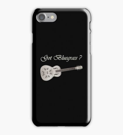Got bluegrass iPhone Case/Skin