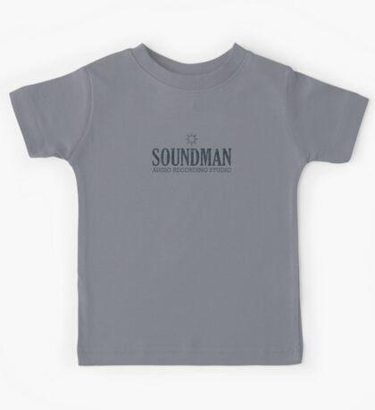 Soundman (black) Kids Tee