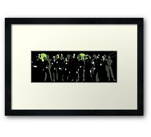 Resist Framed Print