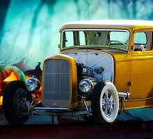 1932 Ford 'Trick or Treat' Coupe by DaveKoontz