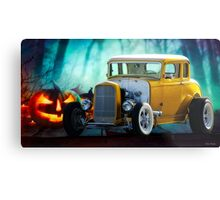 1932 Ford 'Trick or Treat' Coupe Metal Print