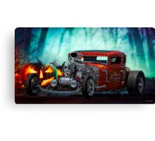 1930 Ford 'Halloween Candy' Coupe Canvas Print