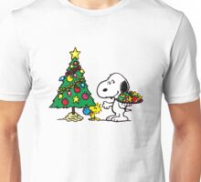 crhismas snoopy and frend Unisex T-Shirt