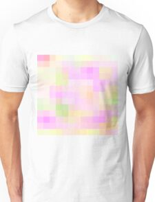 Re-Created Colored Squares No. 4 by Robert S. Lee Unisex T-Shirt