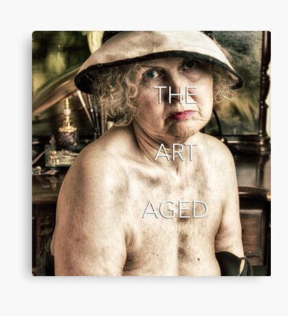 The Art Aged - Forget-Me-Not  Canvas Print