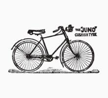Old Bicycle Advert  1892 by Kawka
