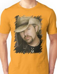 Toby Keith - Celebrity (Oil Paint Art) Unisex T-Shirt