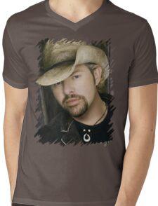 Toby Keith - Celebrity (Oil Paint Art) Mens V-Neck T-Shirt