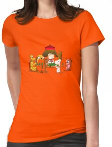 dog poker club Womens Fitted T-Shirt