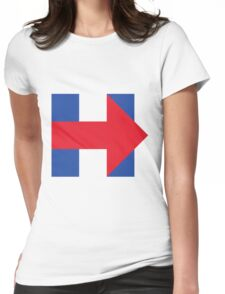 Hillary  Womens Fitted T-Shirt
