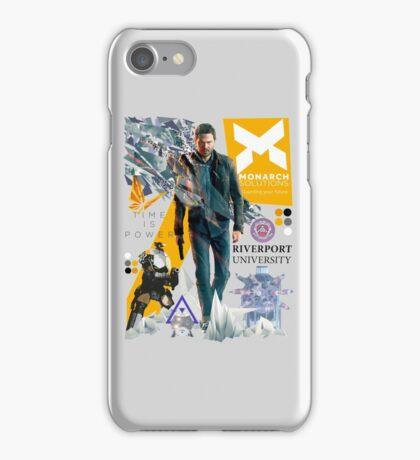 Quantum Break iPhone Case/Skin
