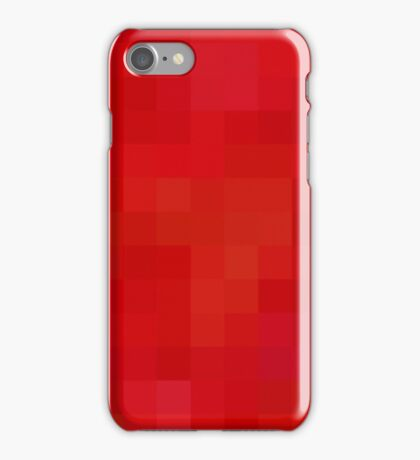 Re-Created Colored Squares No. 5 by Robert S. Lee iPhone Case/Skin