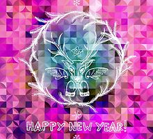 New Year greetings by Patternalized