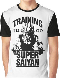 training to go super saiyan Graphic T-Shirt