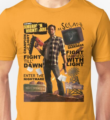 Alan Wake's American Nightmare Unisex T-Shirt