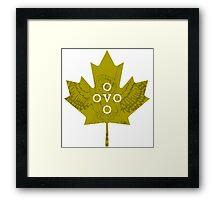 Toronto OVO Corner T Framed Print