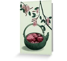 Ophelia in a teapot Greeting Card