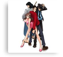 Lupin the Third Canvas Print
