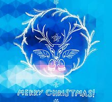 Christmas greetings by Patternalized