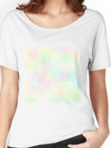 Re-Created Colored Squares No. 35 by Robert S. Lee Women's Relaxed Fit T-Shirt